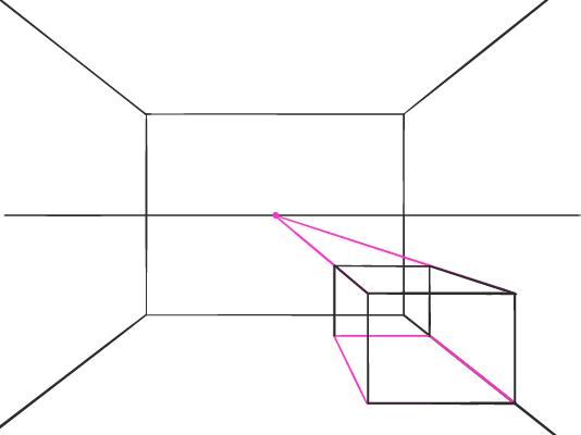 Perspectief tekenen lauwpauw for Kamer 3d tekenen