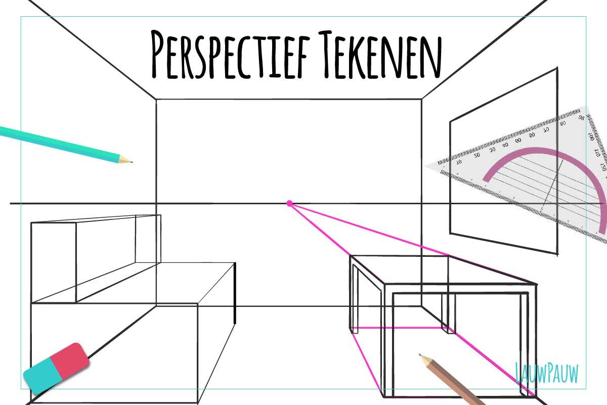 Perspectief tekenen - LauwPauw